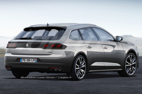 peugeot 508 sw ce que l 39 on sait d j avant la pr sentation l 39 argus. Black Bedroom Furniture Sets. Home Design Ideas