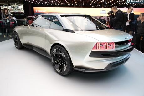 Peugeot E Legend Star Incontestee Du Mondial De L Auto De Paris L