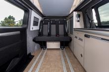 van style van with sliding door