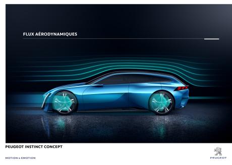 gen ve 2017 peugeot instinct concept la voiture autonome plaisir l 39 argus. Black Bedroom Furniture Sets. Home Design Ideas