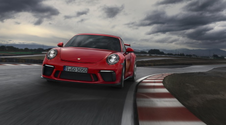La Porsche 911 GT3 (2017) repasse en manuel !