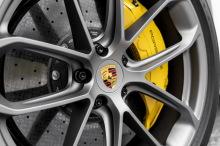 Couverture arrière grise pour Porsche Cayenne Turbo S E-Hybrid 2019