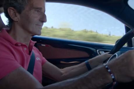 Alain Prost A110 interior