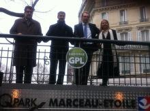 La parking Marceau-Etoile, de Q-Park, souhaitent la bienvenue aux véhicules GPL.