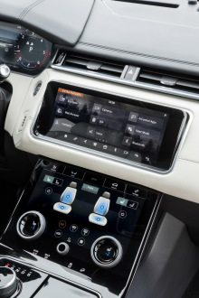 Land Rover Velar console centrale
