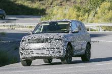 Range Rover 2022 Spyshot
