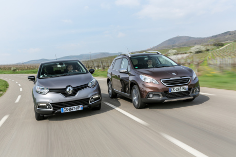 renault captur vs peugeot 2008