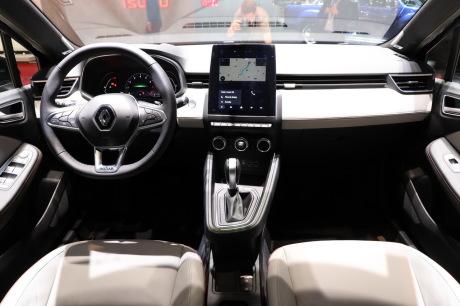 Renault Clio 5 Initial Paris Dashboard Lounge of Genève, 2019