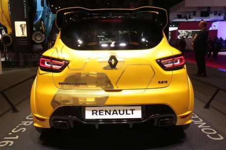 renault dit non la clio rs 16 l 39 argus. Black Bedroom Furniture Sets. Home Design Ideas