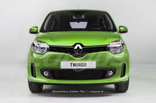 renault twingo restyl e 2019 premi res photos du facelift l 39 argus. Black Bedroom Furniture Sets. Home Design Ideas