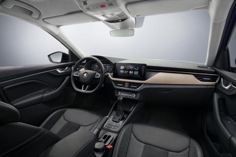 Cockpit Skoda Scala 2019