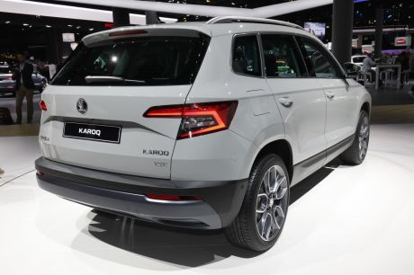 skoda karoq 2017 adieu yeti bonjour karoq francfort l 39 argus. Black Bedroom Furniture Sets. Home Design Ideas