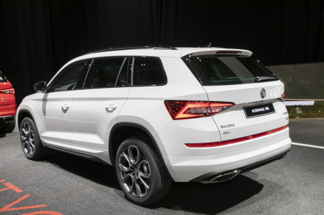 skoda kodiaq rs le suv familial en version sport de 240 ch l 39 argus. Black Bedroom Furniture Sets. Home Design Ideas