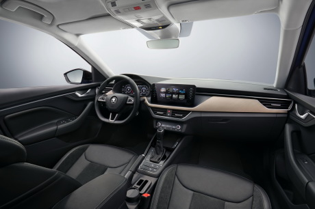 Skoda cabin View dashboard