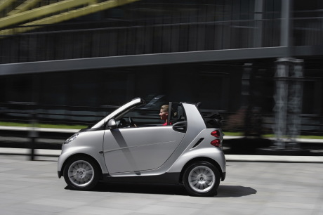 Smart Fortwo cabriolet gris