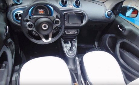 Smart Fortwo Cabrio Brabus Edition intérieur