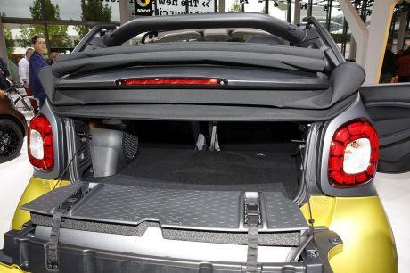 smart fortwo cabrio 2016 une toile pour la nouvelle smart cabrio l 39 argus. Black Bedroom Furniture Sets. Home Design Ideas