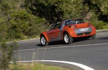 Smart Roadstervue arriÚre rouge
