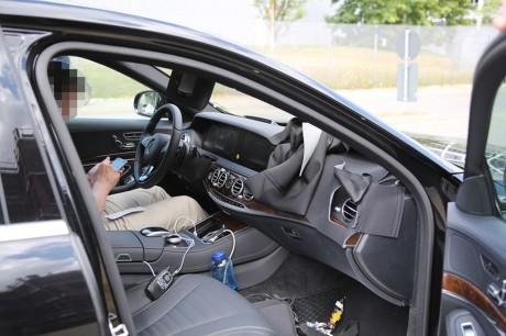 Spyshots Mercedes Classe S 2017 Un Restylage Discret