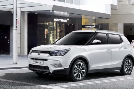 tarifs du ssangyong tivoli sous la barre des 17 000 euros l 39 argus. Black Bedroom Furniture Sets. Home Design Ideas