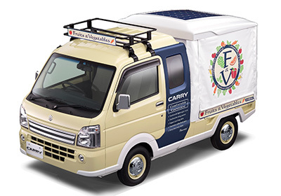 suzuki carry open air market concept