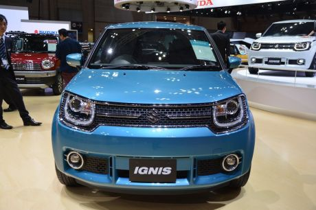 suzuki ignis 2016 elle sera d voil e au mondial de paris l 39 argus. Black Bedroom Furniture Sets. Home Design Ideas