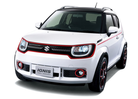 salon de tokyo 2015 voici la suzuki ignis 2015 l 39 argus. Black Bedroom Furniture Sets. Home Design Ideas