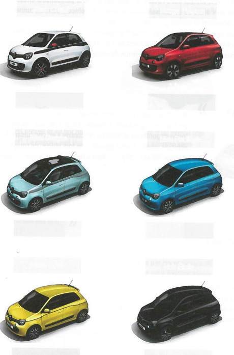 Only 4 Colours Page 2 Renault Twingo Forum