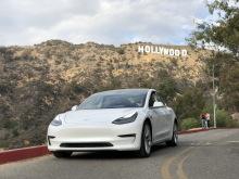 Tesla Model 3 static rear