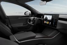 Tesla Model S 2021 habitacle volant Yoke