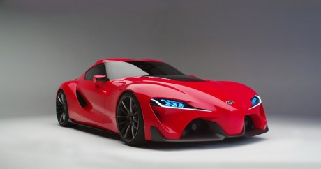 Toyota FT-1 concept rouge
