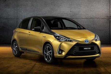 20 years Toyota Yaris