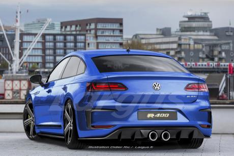 Volkswagen Arteon R 2019 : un moteur VR6 de 400 ch sous le