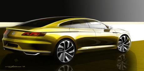 le concept sport coupe gte annonce la nouvelle volkswagen cc 2015 l 39 argus. Black Bedroom Furniture Sets. Home Design Ideas