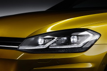 VW Golf 2017 Carat Exclusive feux LED