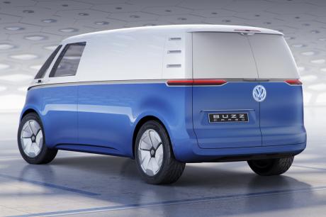 volkswagen i d buzz cargo le nouveau combi en mode utilitaire l 39 argus. Black Bedroom Furniture Sets. Home Design Ideas