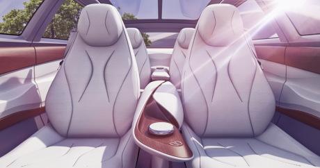 ID Vizzion le véhicule futuriste de Volkswagen — Salon de Genève