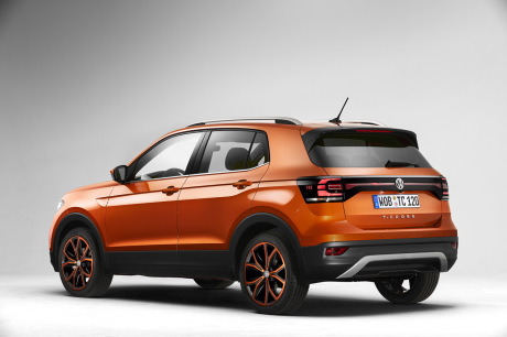 Volkswagen T-Cross orange