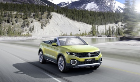 Volkswagen T-Cross Breeze concept 2016 vue avant