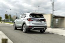 VW T крест вид сзади