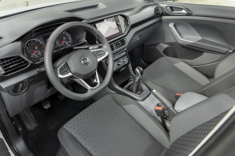 интерьер VW T Cross Lounge