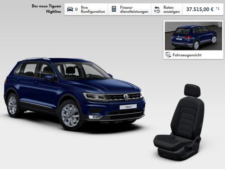 volkswagen tiguan 2016 fiches techniques configurateur et prix l 39 argus. Black Bedroom Furniture Sets. Home Design Ideas