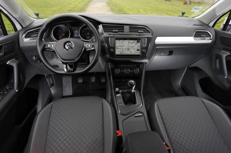 Le nouveau volkswagen tiguan face l 39 ancien quelles for Interieur tiguan