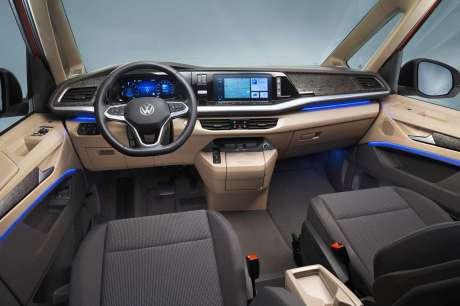 volkswagen multivan 2021 inteireur