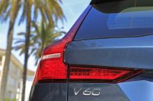 logo Volvo V60 D4 2018