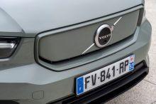 volvo xc40 electric logo