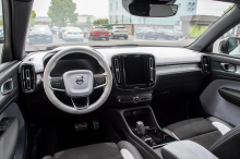 volvo xc40 polar edition interior