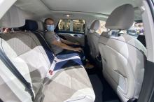 Wey coffee rear seats