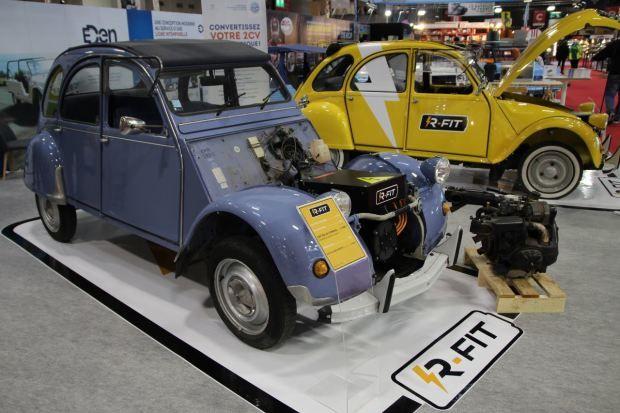 Rétrofit. La conversion des véhicules en électrique est autorisée