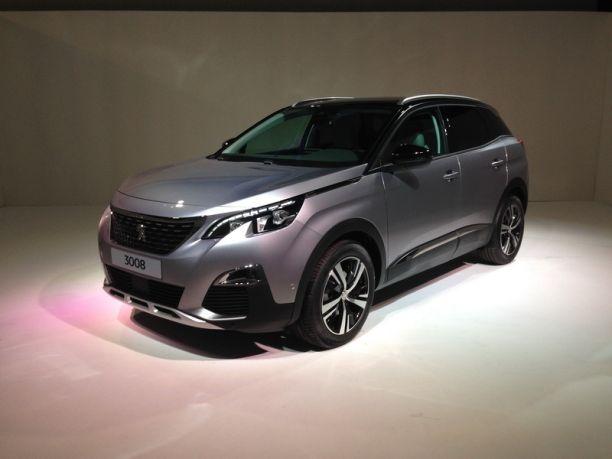 Peugeot 3008 2 2016 Les Photos Et Infos Officielles Du Nouveau